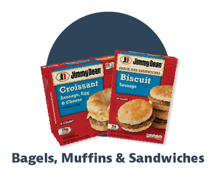 bagels muffins and sandwiches